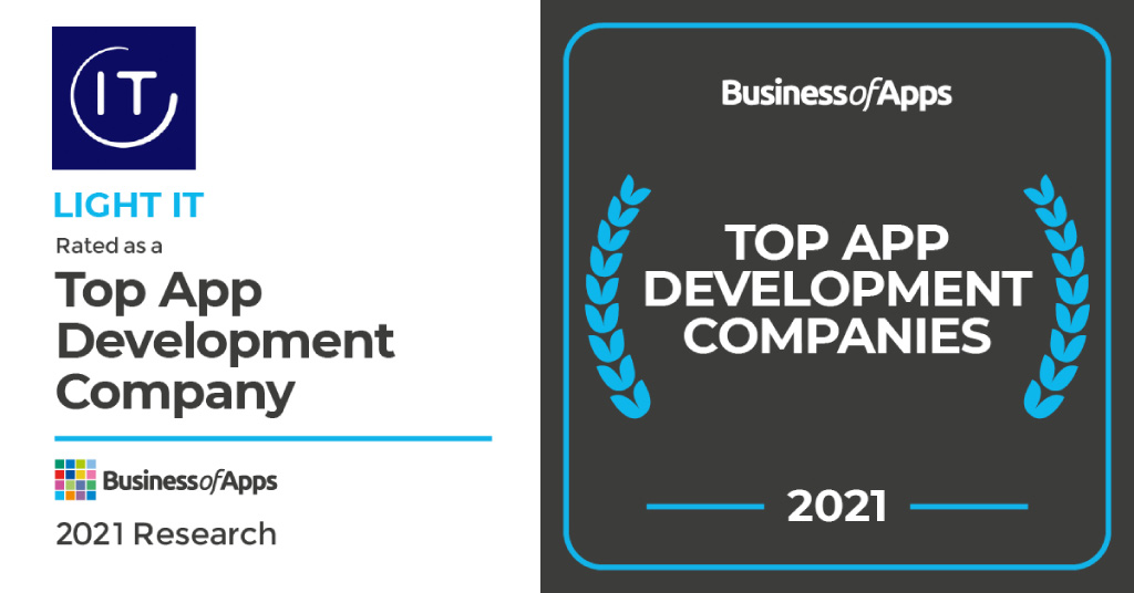 Light IT among the leading development companies of 2021