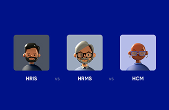 Difference between HRIS vs. HRMS vs. HCM