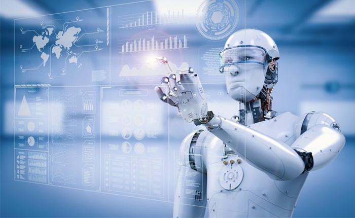 Robot using big data