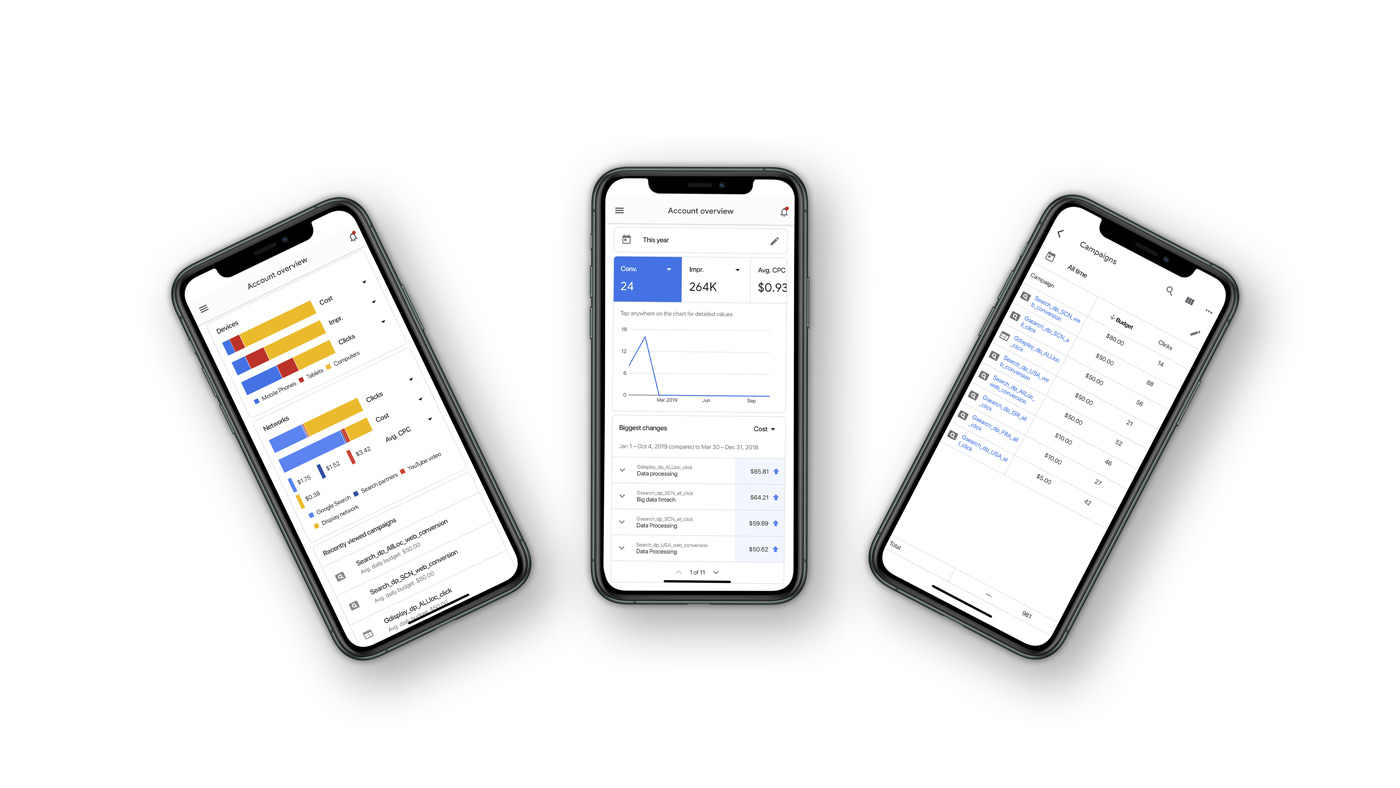 Google Ads Flutter app