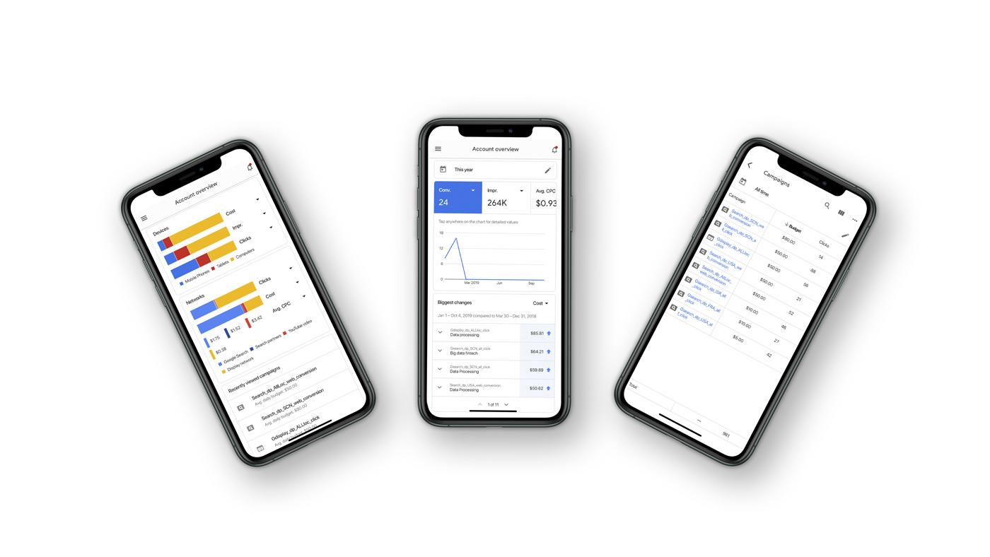 Flutter Google Ads application