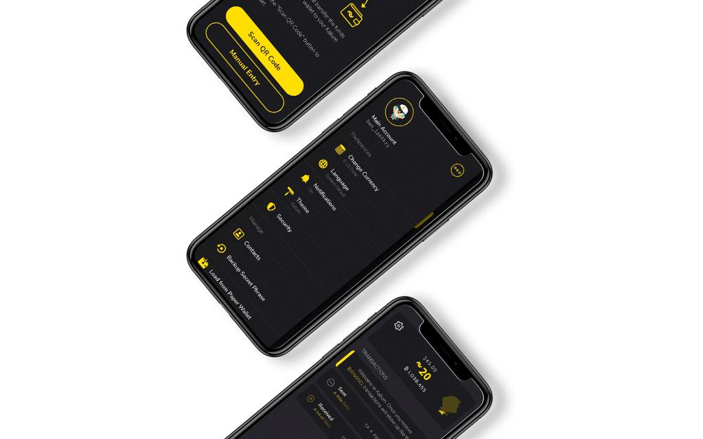 Kalium Flutter app