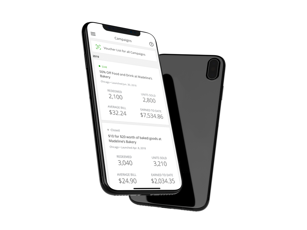 Groupon Merchant Flutter application