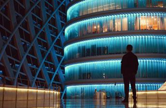Photo of a modern business center
