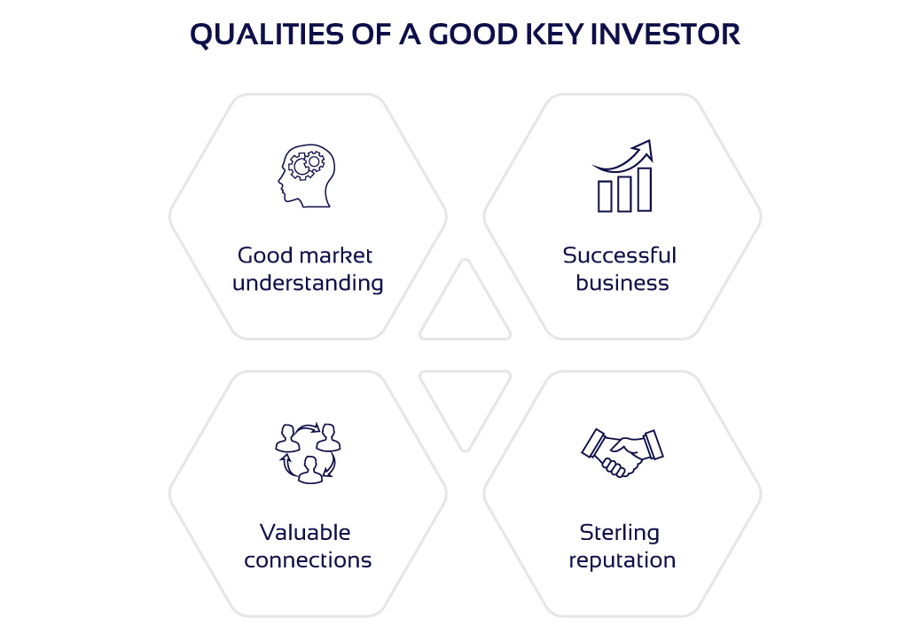 Qualities of a good key investor