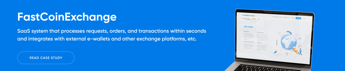 Banner Fast and Safe Cryptocurrency Exchange