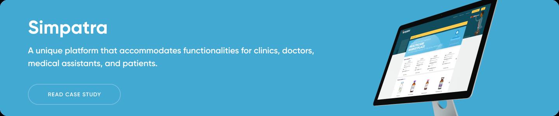 Healthcare platform banner