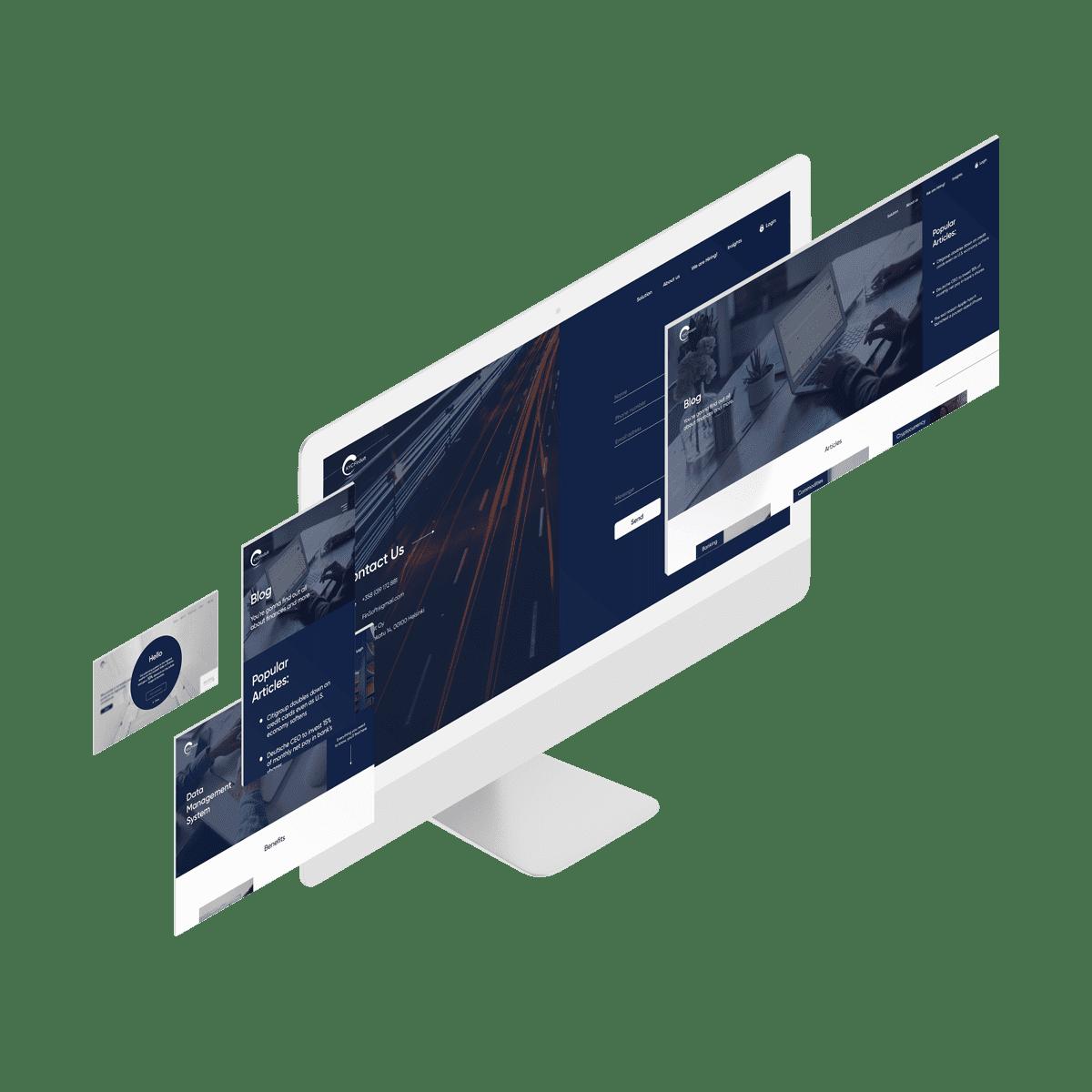 KYC service on monitors