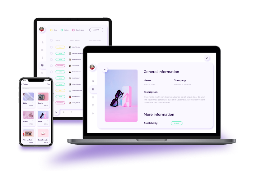 View an advanced marketplace for retail