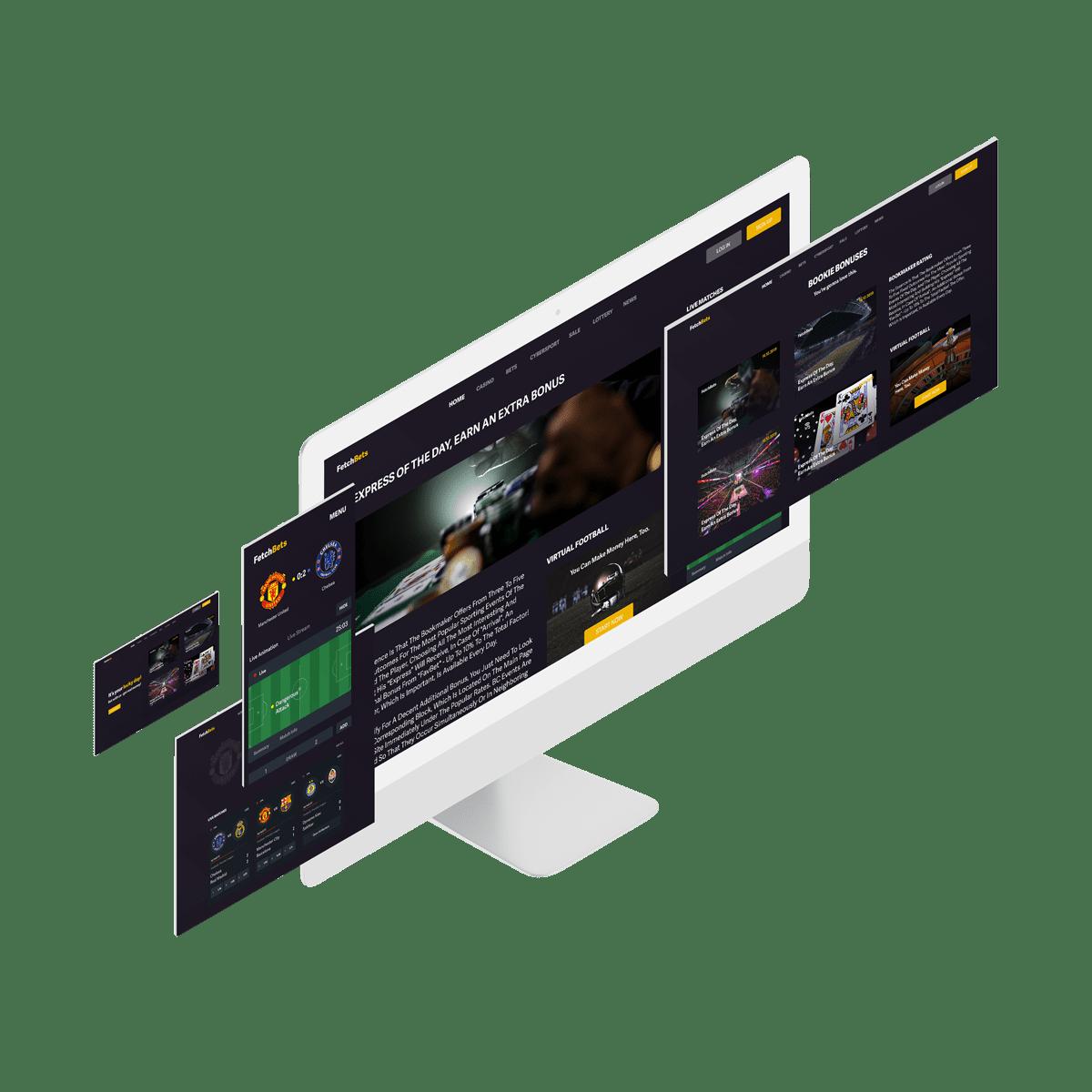Interface of a gambling data analyzer