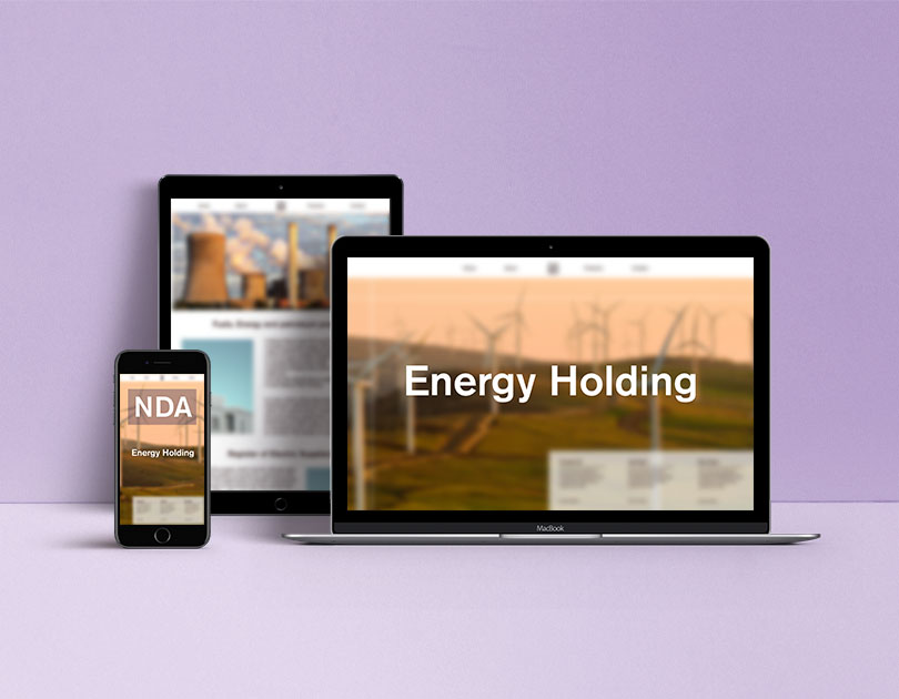 Project for energy holding on the monitors