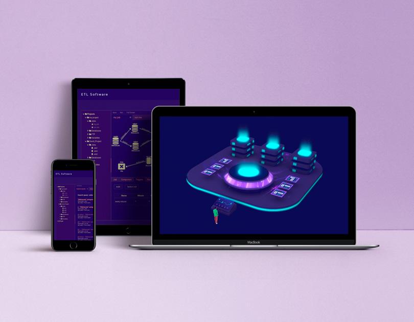 ETL software platform design