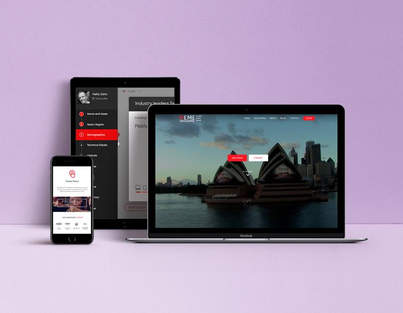 Advertising platform visualization