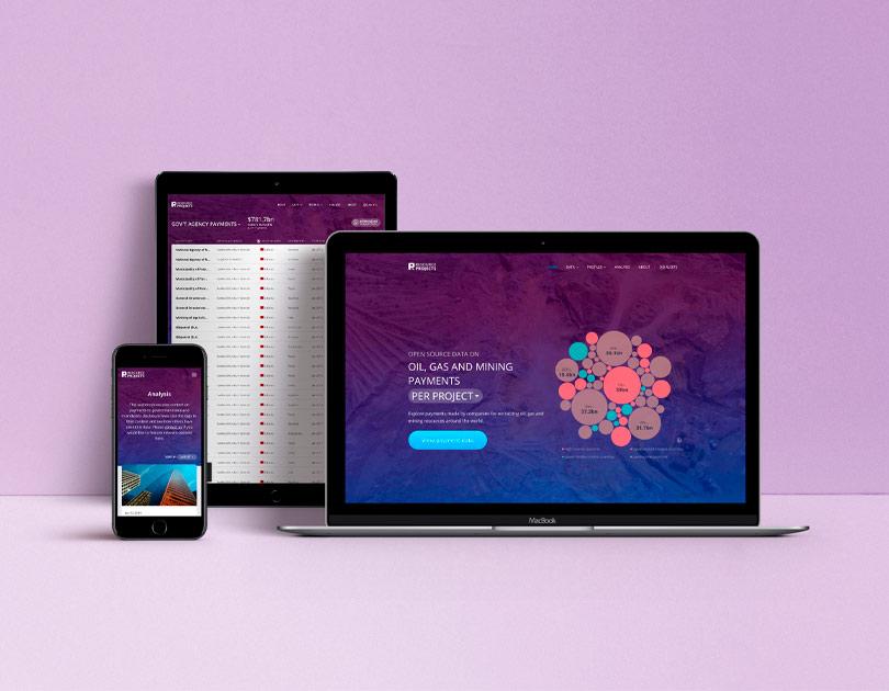 Interface of Resource Statistics platform