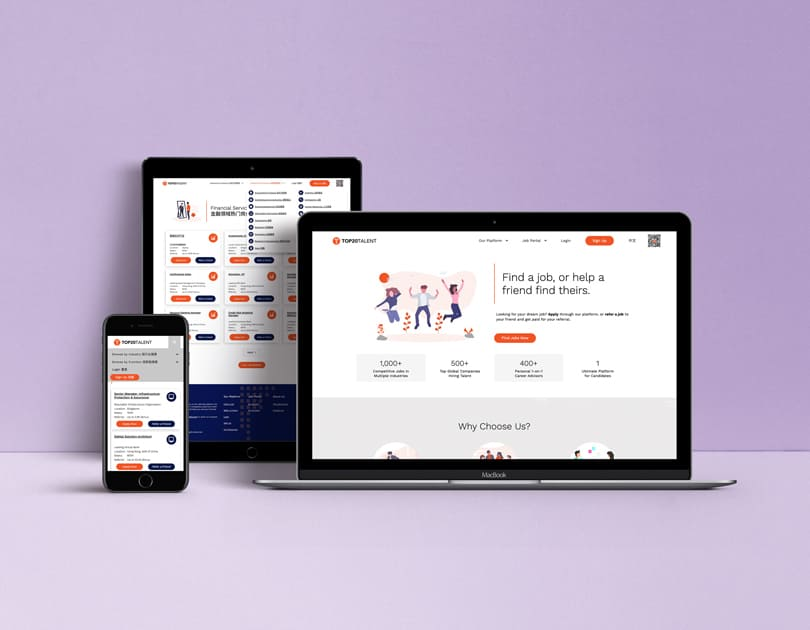 Recruiting platform visualization