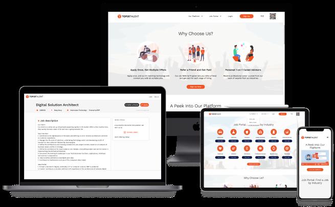 Recruiting platform design1